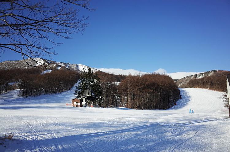 あだたら高原スキー場-登山口